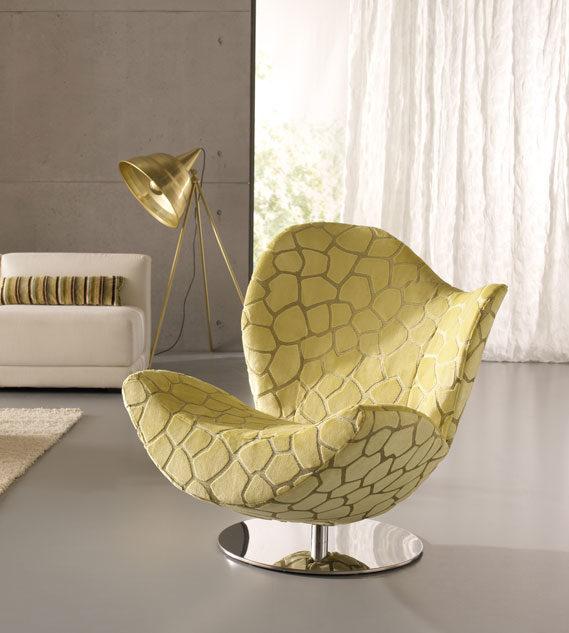 Moderner grüner Sessel
